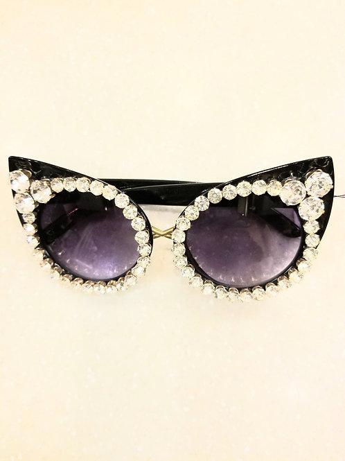 Rhinestone Fashion Glasses