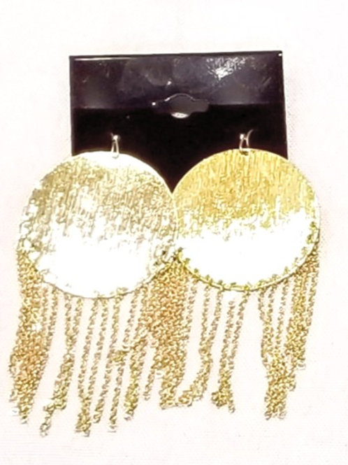 Gold Plated Shimmy Earrings