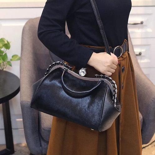 Horse Hair Fur Shoulder Bag