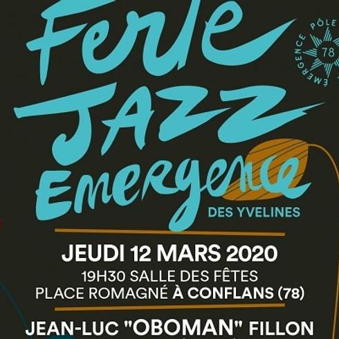 FERTE JAZZ EMERGENCE (Tremplin Jazz) puis Concert de Jean-Luc Fillon en trio