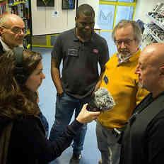 Interview des organisateurs - Julie Chaizemartin - Art District Radio. De GàD Lionel Baunot, Yanis Baybaud, Bruno Charavet et Patrick Martineau