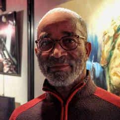 Gérard notre Chef cuisinier - Co fondateur de Jazz Au Confluent. Son colombo est à ce jour inégalé !