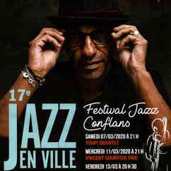 Manu Katché Affiche du 17è Festival Jazz En Ville 2020