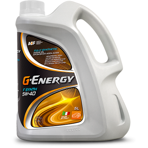 G-Energy F Synth 5W-40 Engine Oil - 5L