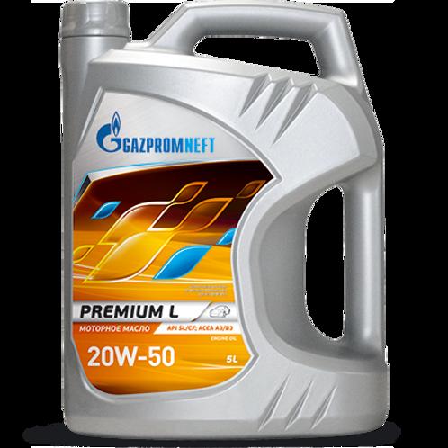 Gazpromneft Premium L 20W-50 Engine Oil - 5L