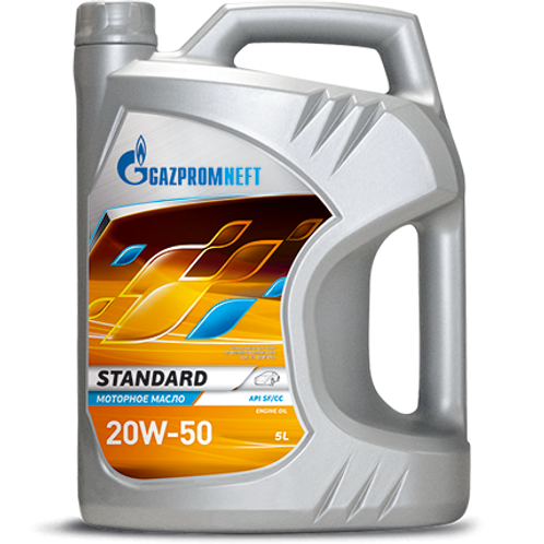 Gazpromneft Standard 20W-50 Engine Oil - 5L