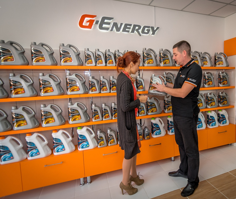 G-Energy Service Station in Moldova