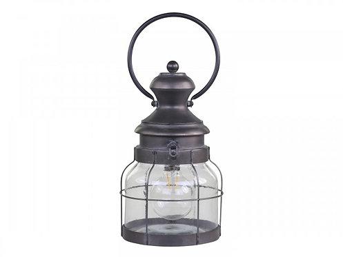 Chic Antique - Fransk stald Lanterne inkl. pære & timer