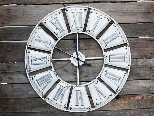 Chic Antique - Vintage væg ur med romertal