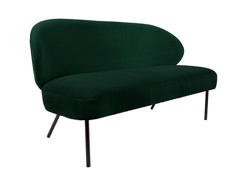 Present Time - Sofa puffed mørk grøn