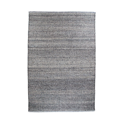 House Nordic - Ohio Tæppe - Grå/Lyseblå - 160x230 cm