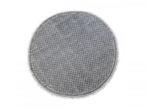 Chic Antique - Tæppe m. cirkel mønster