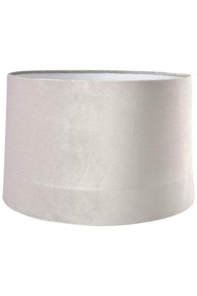 C'est Bon  - Velour Lampeskærm - lys grå - 25 cm.