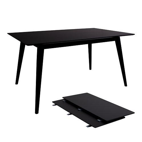 House Nordic - Copenhagen Spisebord - Sort/Sort 150/230x95
