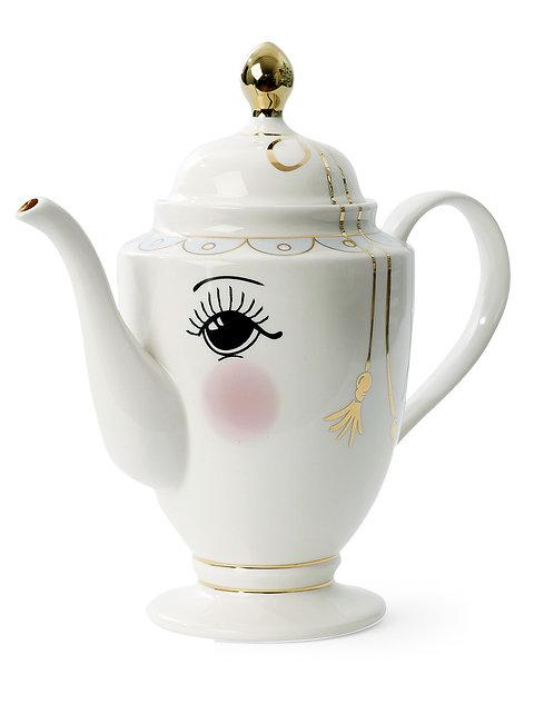 Miss Étoile - Icons te og kaffe kande - White/Black/gold