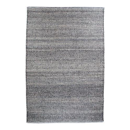 House Nordic - Ohio Tæppe - Grå/Lyseblå - 200x300 cm