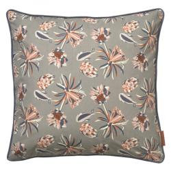 Cozy living - Palm Flower Cushion - Mud