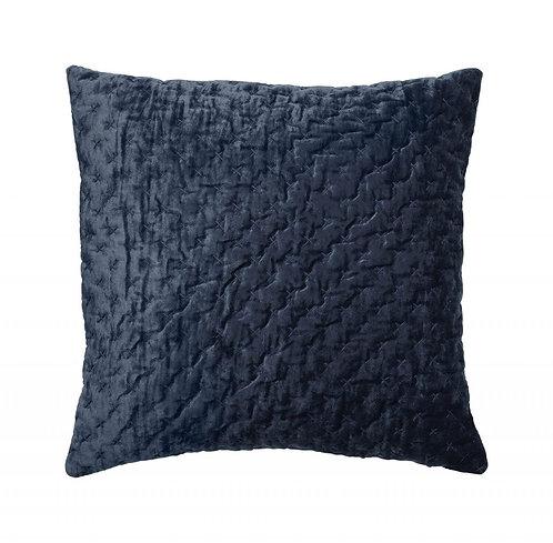 Cozy living - Velour pude - Royal blue