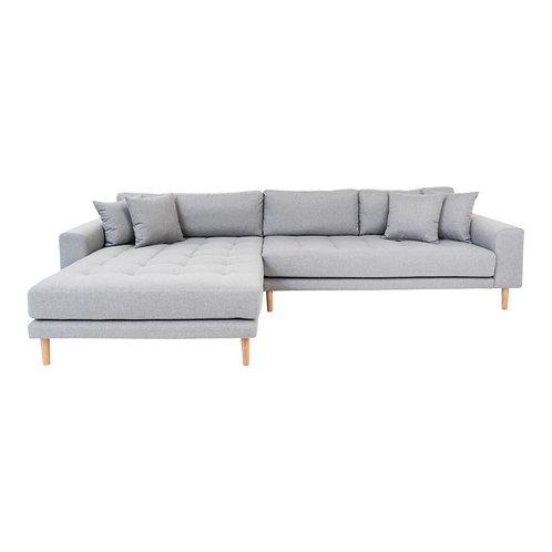 House Nordic - Lido Lounge sofa venstrevendt lysegrå