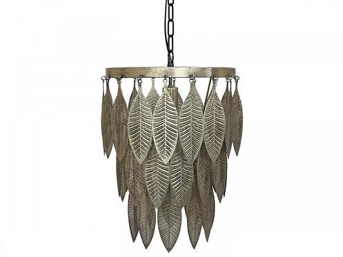 Chic Antique - Lampe m. metal deko