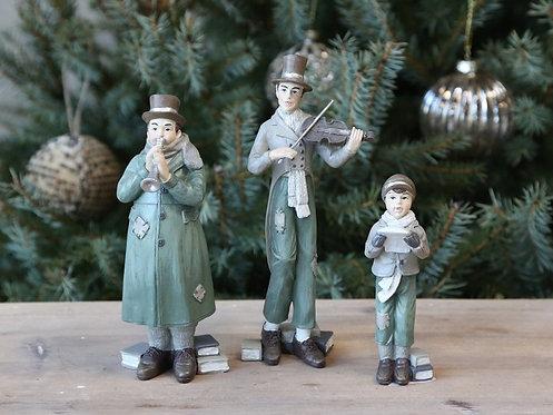 Chic Antique - Vintage Juleorkester sæt af 3