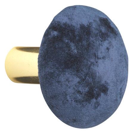 Cozy living - Velour knage - L - Royal blue
