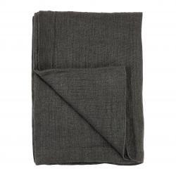 Cozy living - Rustic Linen - Sengetæppe - Coal