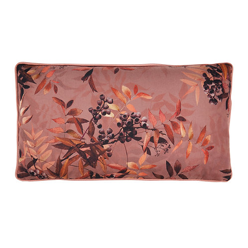 Cozy living - Alba printed pude - Rouge