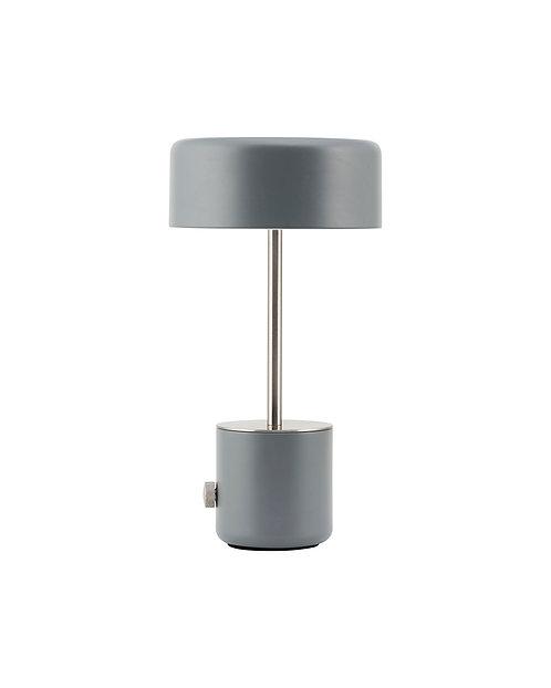 House Doctor -  Bordlampe, Bring, Grå