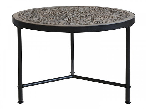 Chic Antique - Sofabord m. udskæringer