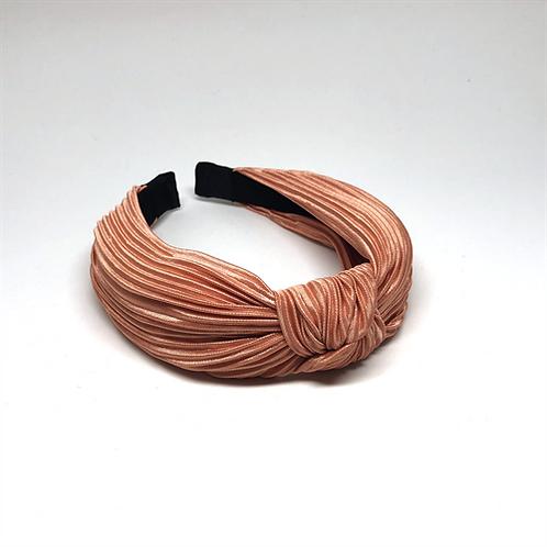 By Stær Hårbøjle med knude – NO. 083 plissé peach