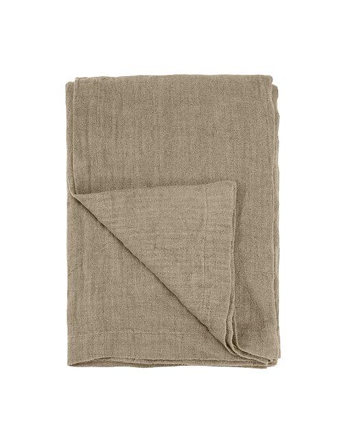 Cozy living - Rustic Linen - Sengetæppe - Alpaca