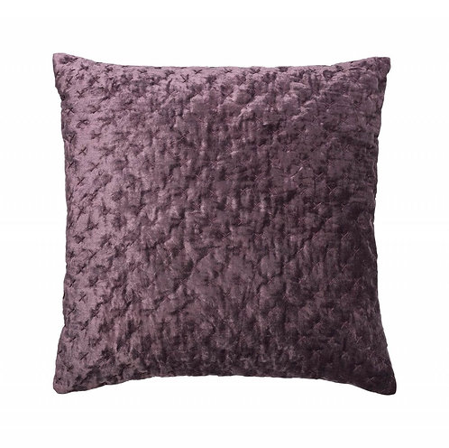 Cozy living - Velour pude - Grape