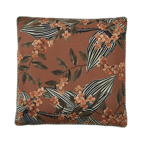 Cozy living - Aida printed pude - Toffee