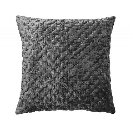 Cozy living - Velour pude - Steel