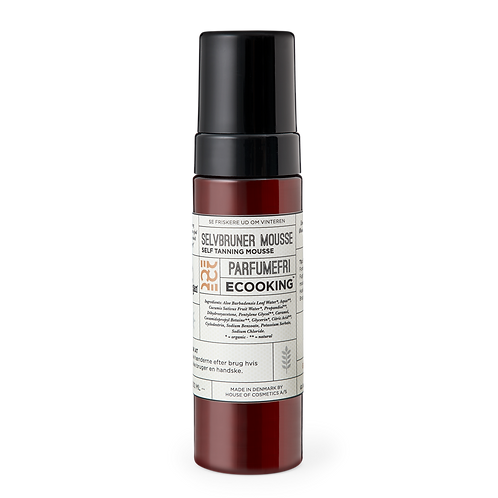 Ecooking - Selvbruner mousse parfumefri 200 ML.