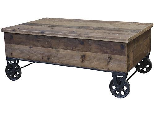 Chic Antique - Sofabord på hjul