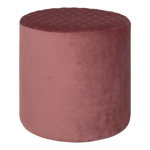 House Nordic - Ejby Puf - Velour - Rosa