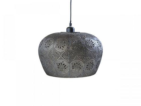 Chic Antique - Vire gl. Lampe m. mønster