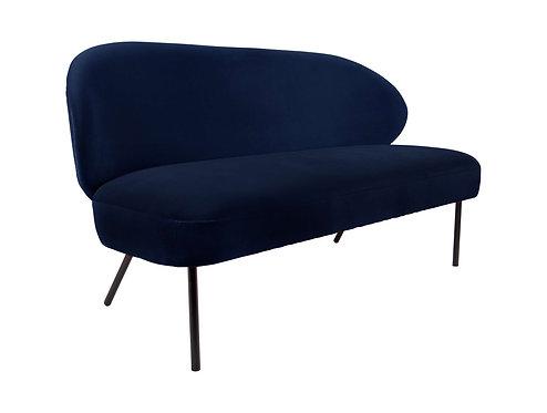 Present Time - Sofa puffed mørk blå