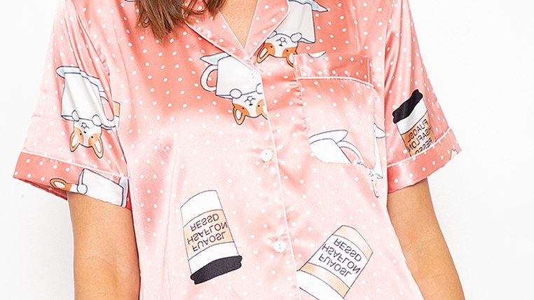 Kaori Shortsleeve Shorts