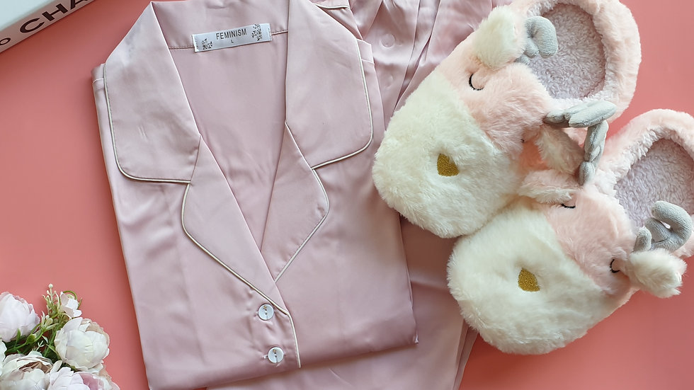 Jane Pink LP+ Sheep slippers