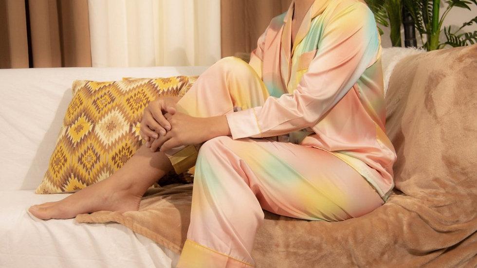 Miley Silk PJ set