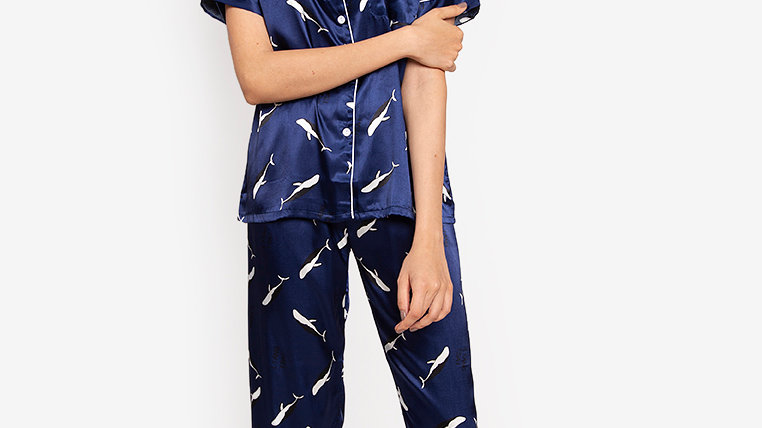Romeo Silk Shortsleeve Pajama