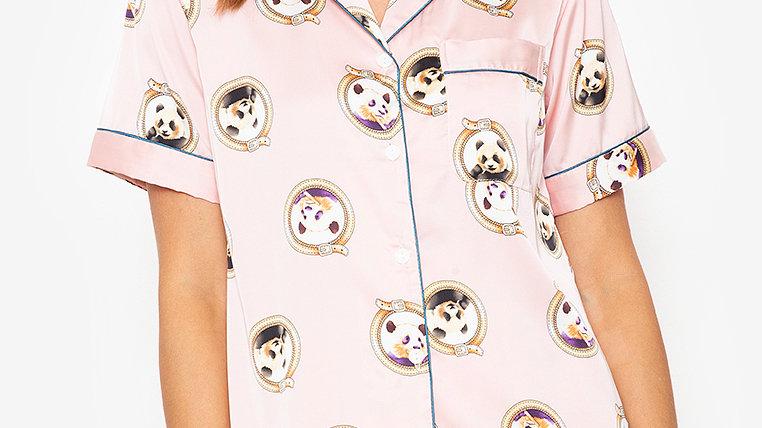 Panda Shortsleeve Shorts