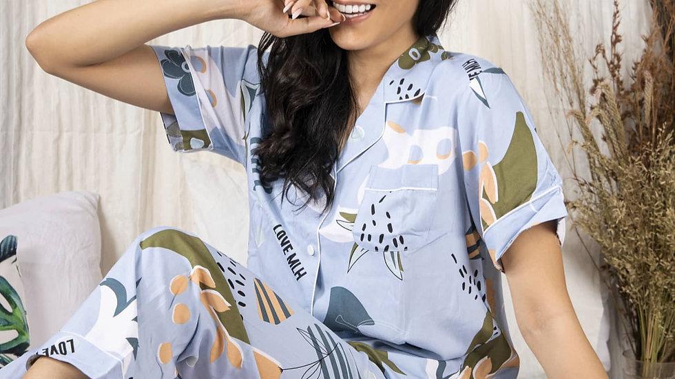 Bela Cotton Shortsleeve Pajama