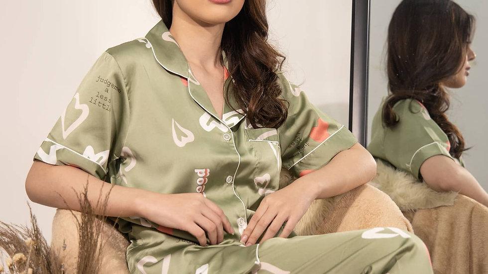 Heart Shortsleeve Pajama