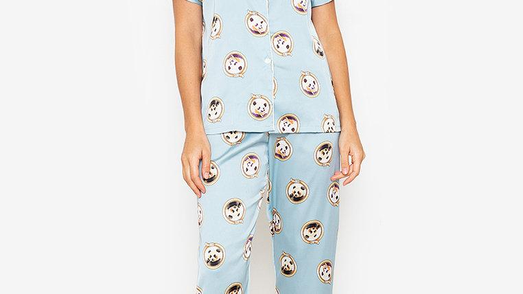 Panda Shortsleeve Pajama