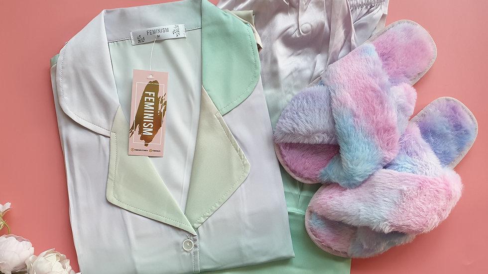 Leigh LP+ Rainbow slippers