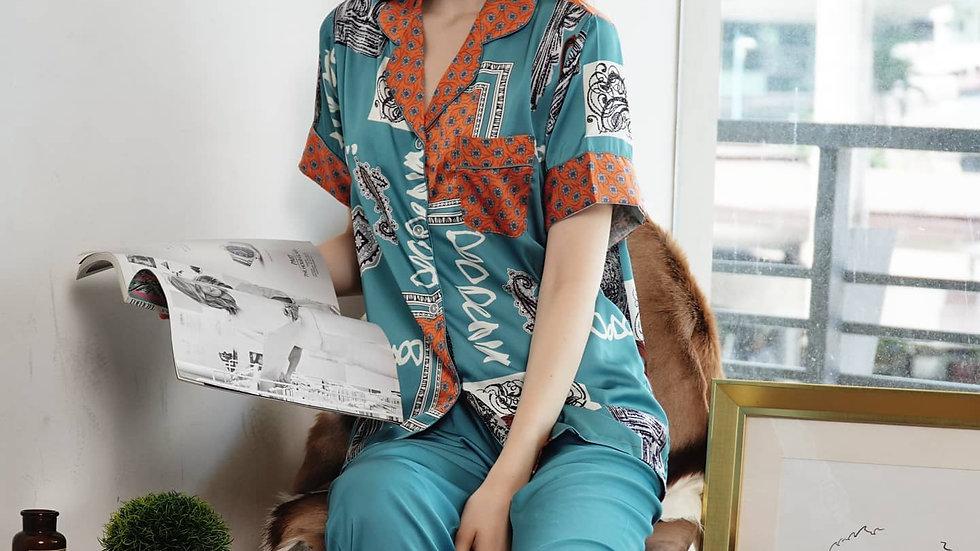 Greer Shortsleeve Pajama